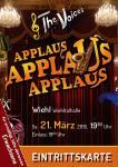 The Voices - Applaus, Applaus, Applaus - 21.03.2015 Sitzplatz-Erwachsene